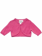 Rare Editions Fuchsia Cardigan Sweater