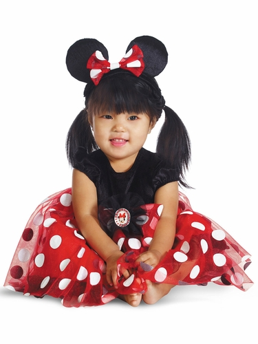 Red Minnie Infant Costume