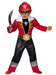 Red Ranger Super Megaforce Light-Up Motion-Activated Jumpsuit