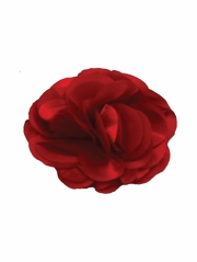 Red Satin Flower