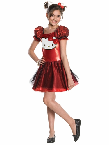 Red Sequin Hello Kitty Dress