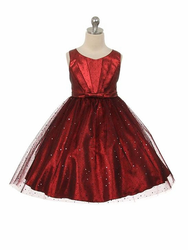 Red Sparkly Tulle Dress