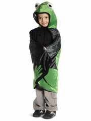 Reversible Hooded Frog/Prince Cape