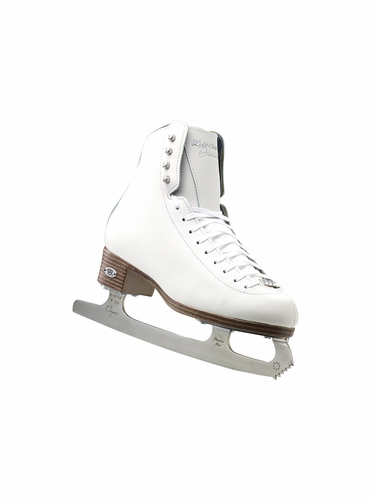 Riedell Ice Skates 33 Diamond Girls Shoes w/ Capri Blade