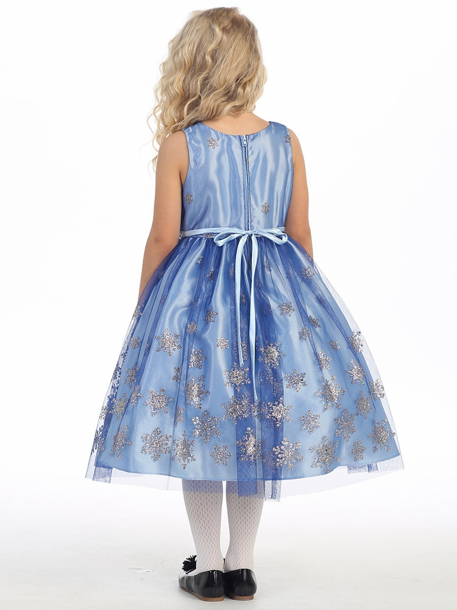 Blue Holiday Dresses 47