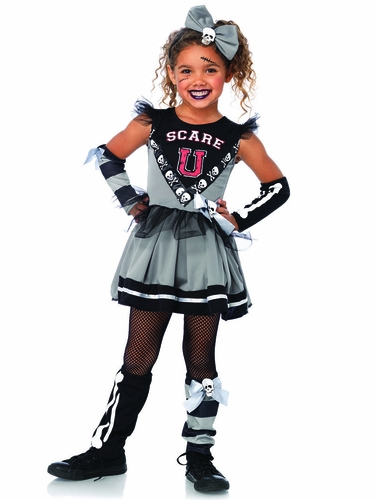 "Scare ""U"" Cheerleader 4 PC Costume"
