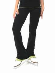 Se_Ku Boot Cut Cotton & Lycra Pants w/ Trim