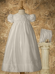 Silk Dupioni 26� Christening Dress