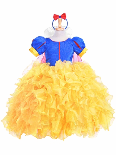 Snow White Deluxe Ruffle Costume
