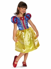 Snow White Sparkle Classic Girls Costume