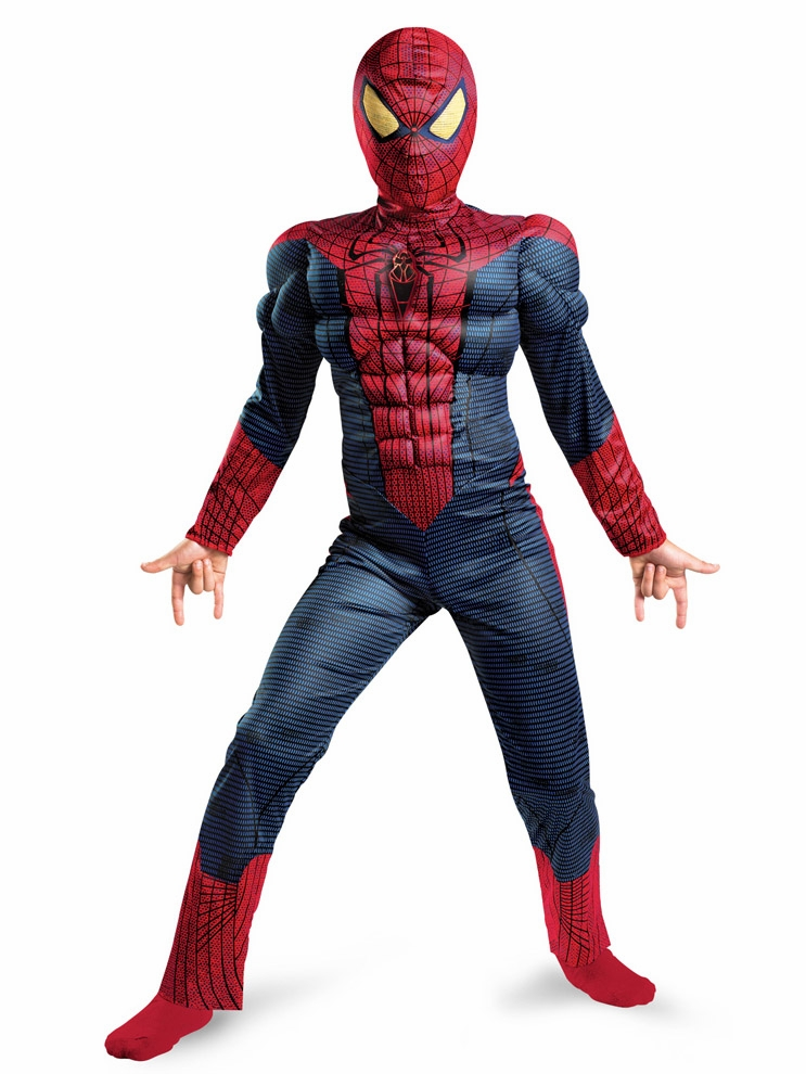 Spider-man Costumes. Showing 40 of results that match your query. Search Product Result. Product - Spider-Man Homecoming Spiderman Child Costume. Product Image. Marvel Toddler Boys Ultimate Spider-Man Muscle Costume with Mask. Product - Spiderman Children Super Hero Cape and Mask for Boys, Costume for Kids Birthday Party, Pretend Play.