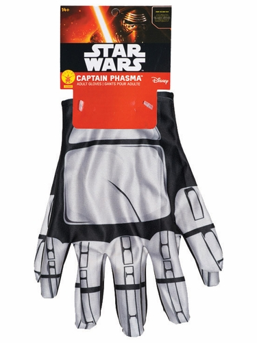Star Wars Episode VII Captain Phasma Gloves- Adult