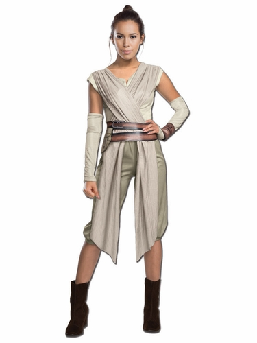 Star Wars Episode VII Deluxe Rey Adult Costume