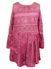 Stella Industries Pink Ethnic Olympia Dress