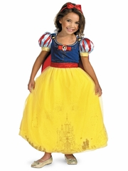 Storybook Snow White Prestige Girls Costume