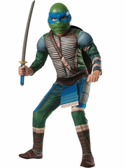 Teenage Mutant Ninja Turtles The Movie Deluxe Leonardo Costume