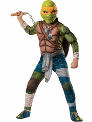 Teenage Mutant Ninja Turtles The Movie Deluxe Michelangelo Costume