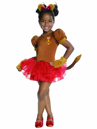 The Wizard Of Oz Cowardly Lion Tutu Costume