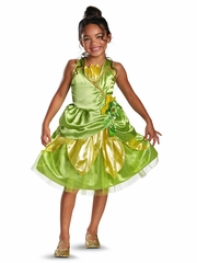 Tiana Sparkle Classic Girls Costume