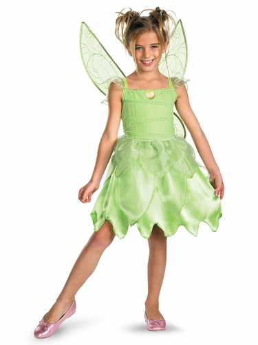 Tink and the Fairy Rescue Girls Costume