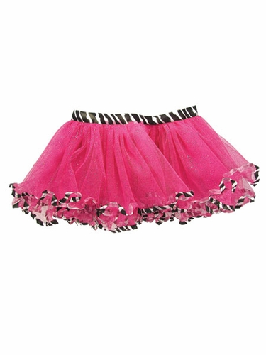 Toddler Fuchsia Animal Print Tutu