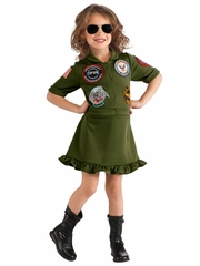Top Gun Girl Costume