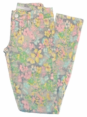 Tractr Jeans Floral Printed Skinny