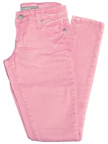 Tractr Jeans Pink 5 Pocket Basic Skinny
