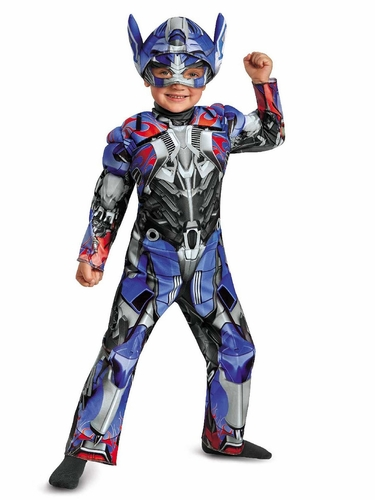Transformers Optimus Prime Toddler Muscle Costume