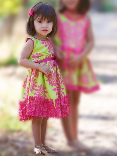Trish Scully Child Azalea Sleeveless Evelyn Dress