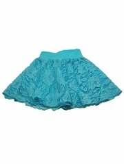 Turquoise Lace Skirt