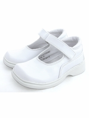 White Padded Velcro Shoes