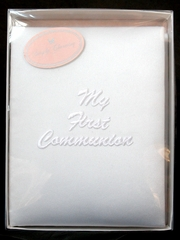 "White Satin ""My First Communion "" Photo Album"
