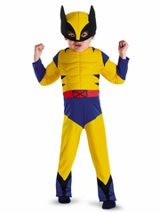 Wolverine Toddler Muscle Boys Costume