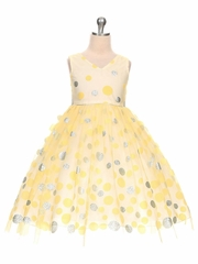 Yellow Flower Girl Dresses - PinkPrincess.com
