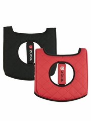 ZUCA Flyer Seat Cushion - Black/Red