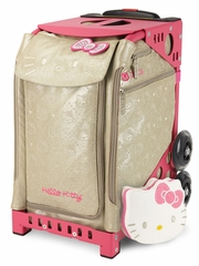 ZUCA Prints Inserts & Frame- Hello Kitty Special Editions 'Good As Gold' w/ Pink Frame