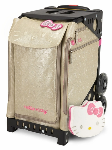 ZUCA Prints Inserts & Frame- Hello Kitty Special Editions 'Good As Gold' w/ Black Frame