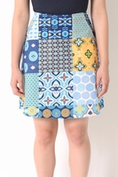 Carey Patchwork Skirt