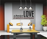 A Family's Love Is Nature's Masterpiece | Wall Decals