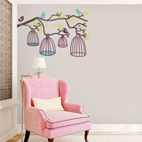 Birds Out Of Their Cage - Printed Wall Decals