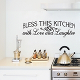 Bless this Kitchen with Love and Laughter - Wall Decals
