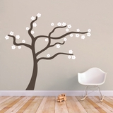 Blowing Flower Tree - Wall Decal