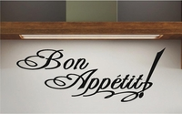 Bon Appetit! Wall Decals