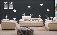 Cartoon Birds Set | Wall Decals