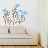 Coral Reef with Fish - Wall Decals