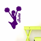 Custom Cheerleader - Wall Decals