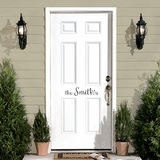 Custom Front Door Decals