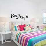 Custom Fun Name - Wall Decals