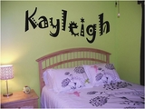 Custom Fun Name Wall Decals